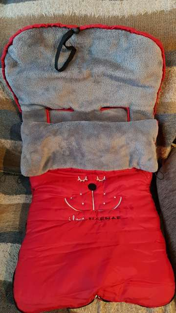 Imagen saco de invierno marca naf naf para cochecito de bebe