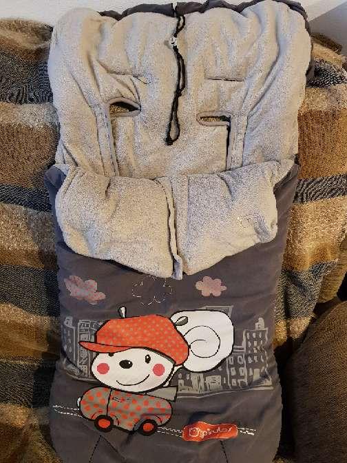 Imagen saco de invierno marca pirulos para cochecito bebe