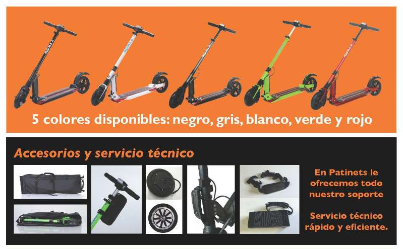 Imagen producto Patinete eléctrico E-twow S2 Samsung Booster S+ 500w a 630€ IVA inc. 2