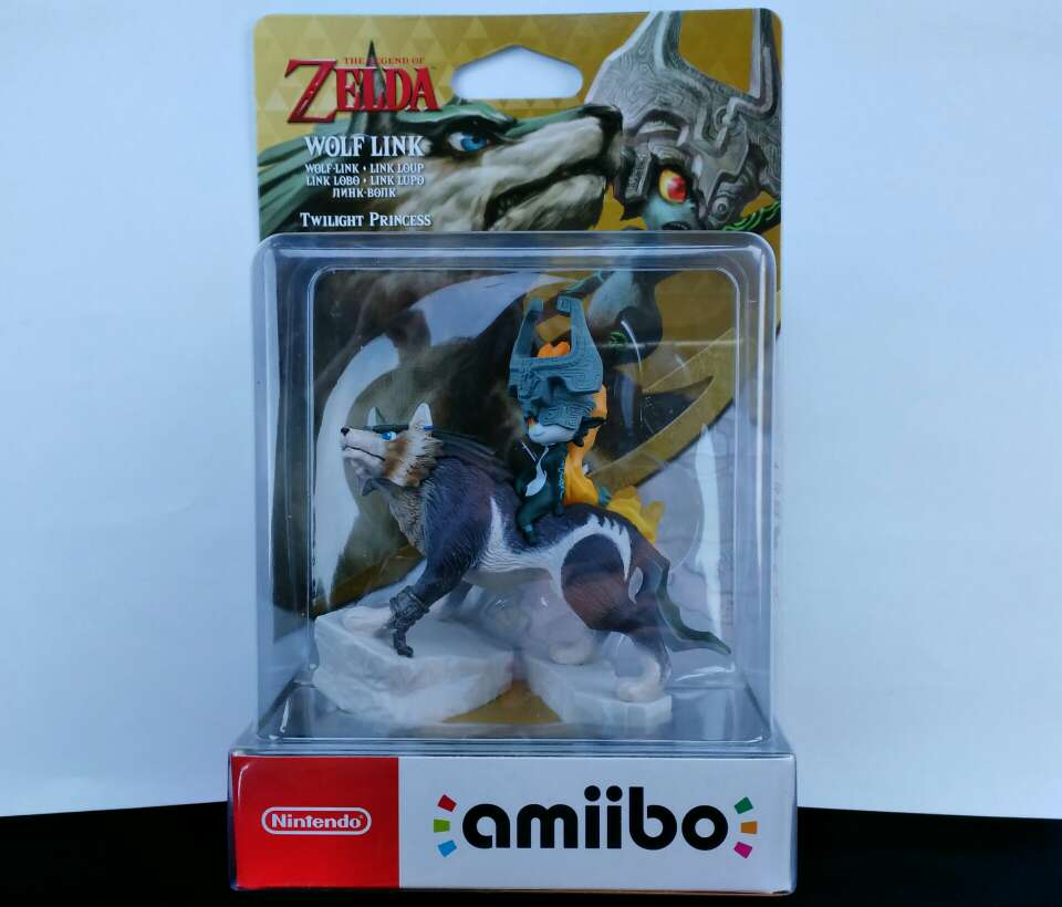 Imagen Amiibo Zelda Wolf link, precintado