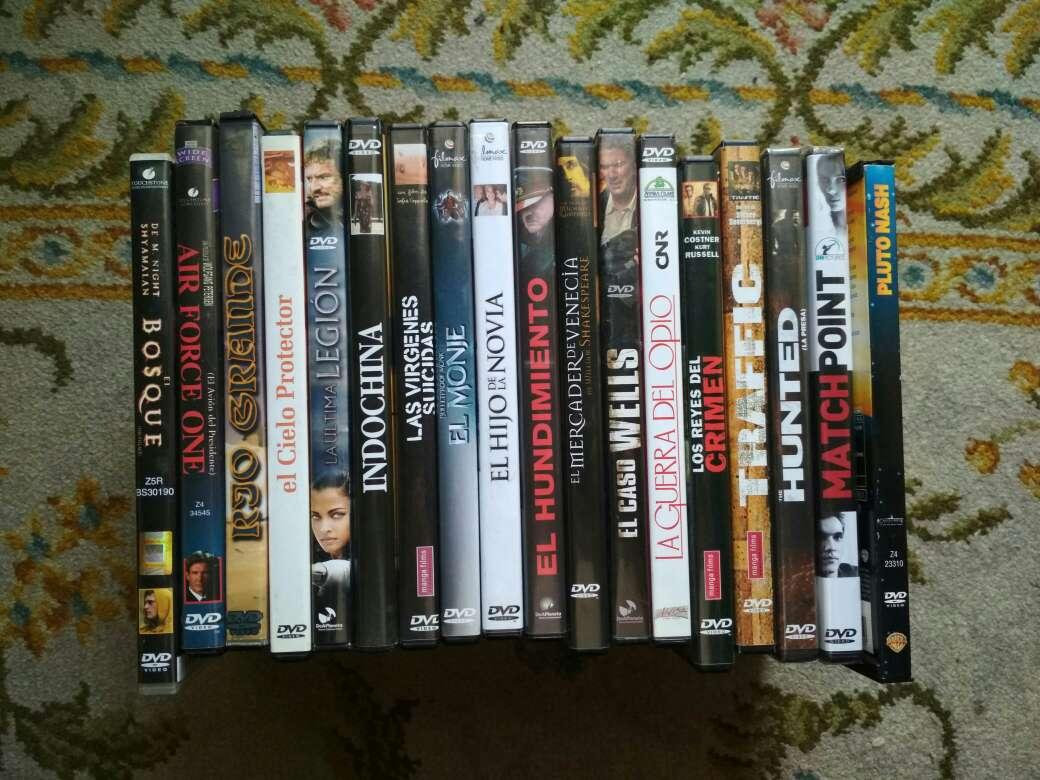 Imagen películas en DVD a 1 € la unidad
