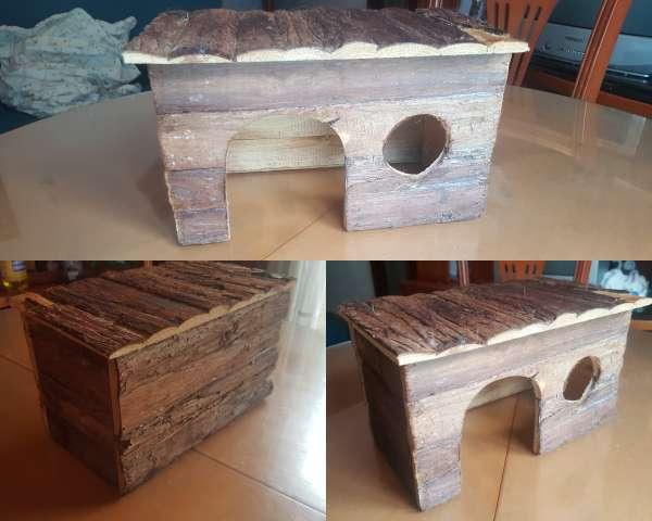 Imagen Casita de madera para animalitos