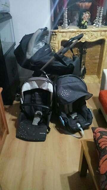 Imagen producto Vendo carro de bebe 3 piezas bebeconfort 170€ 2