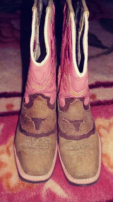 Imagen botas de niña talla 12