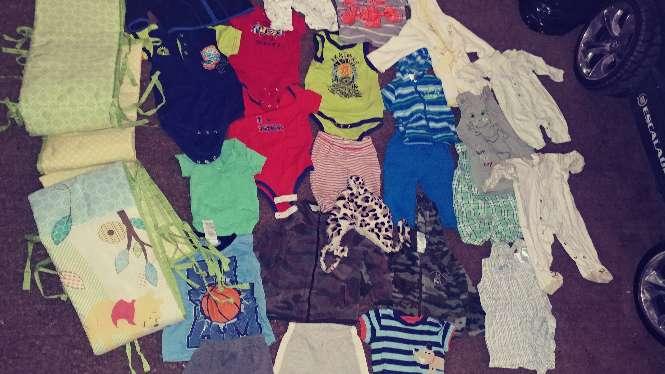 Imagen ropa de bebes tallas 0 a 9 meses