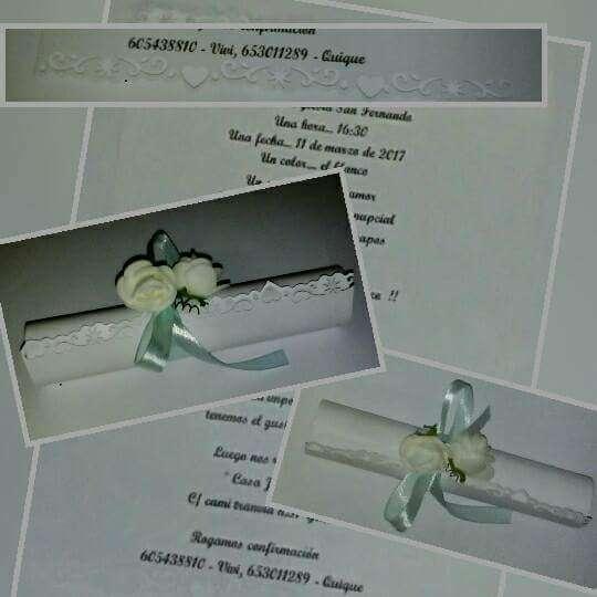 Imagen producto Tarjetas de invitaciones para todo tipo de eventos 5