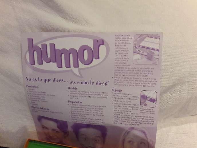 Imagen producto Humor. Juego 5