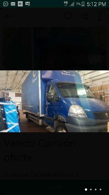 Imagen camión renault mascott