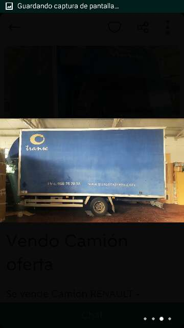 Imagen producto Camión renault mascott 3