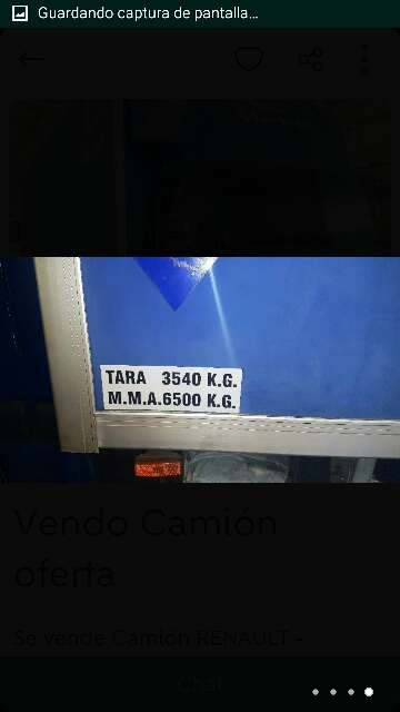 Imagen producto Camión renault mascott 5