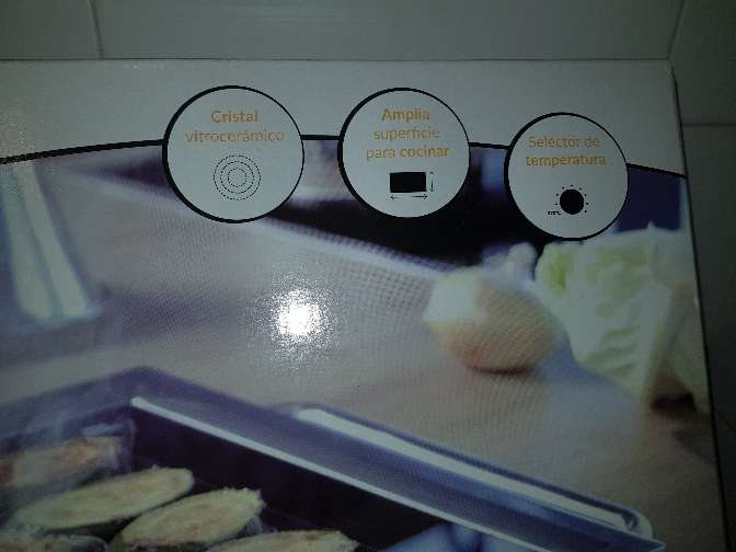 Imagen producto Plancha eléctrica profesional 4
