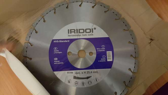 Imagen disco de diamante para cortes en asfalto y hormigo nuevo escucho ofertas