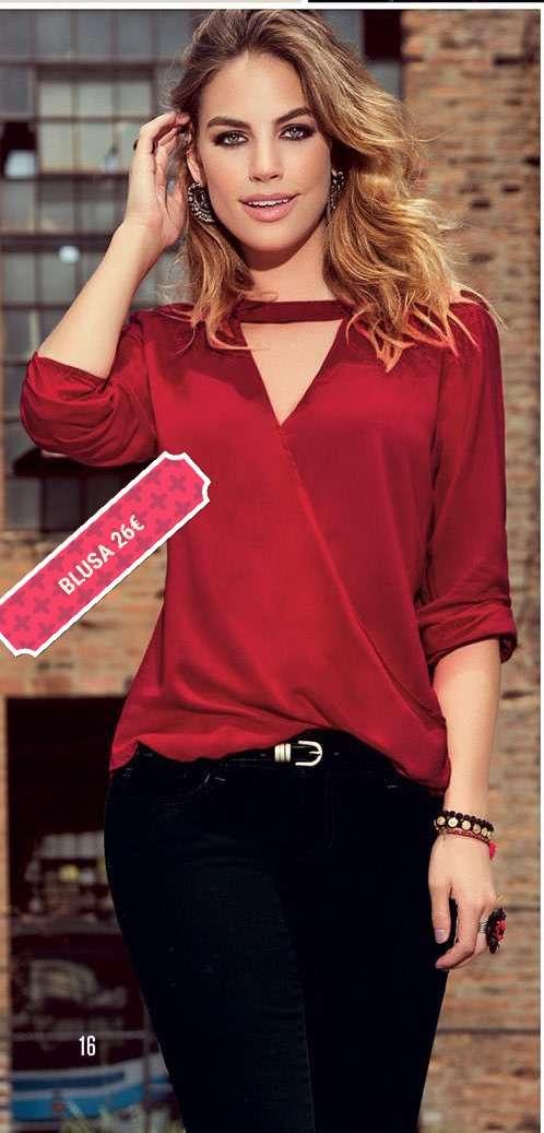 Imagen Blusa roja