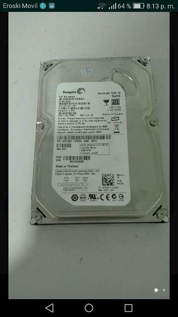 Imagen disco duro de 80GB