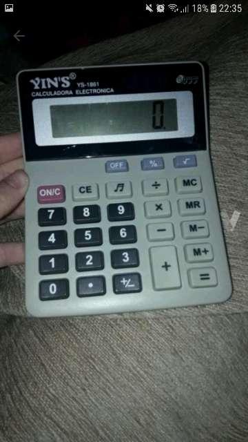 Imagen Calculadora sin usar