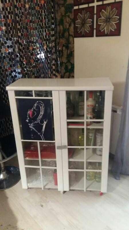 Imagen producto Mueble bar artesano exo a mano.... bonito elegante y diferente 2