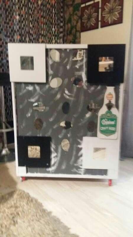Imagen producto Mueble bar artesano exo a mano.... bonito elegante y diferente 3