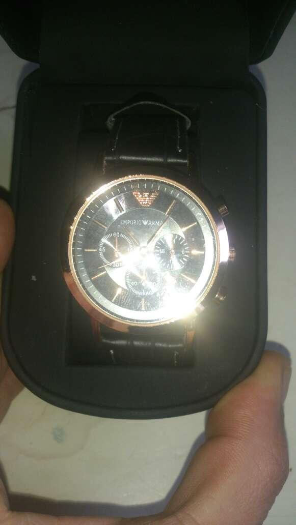Imagen magnifique montre chronographe ARMANI