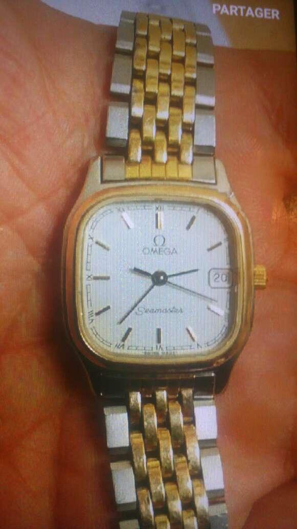 Imagen producto Authentique montre oméga seamaster or 18k 1