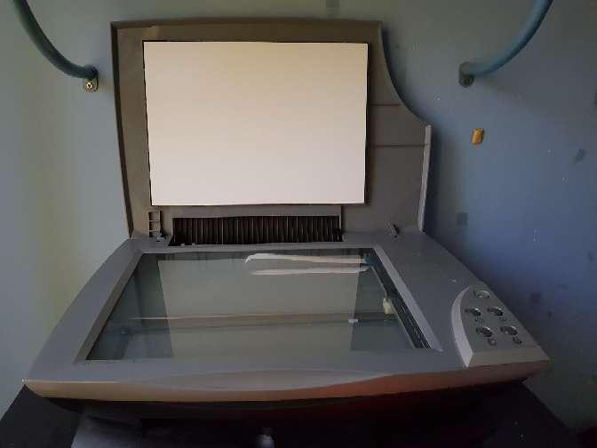 Imagen impresiona escaner