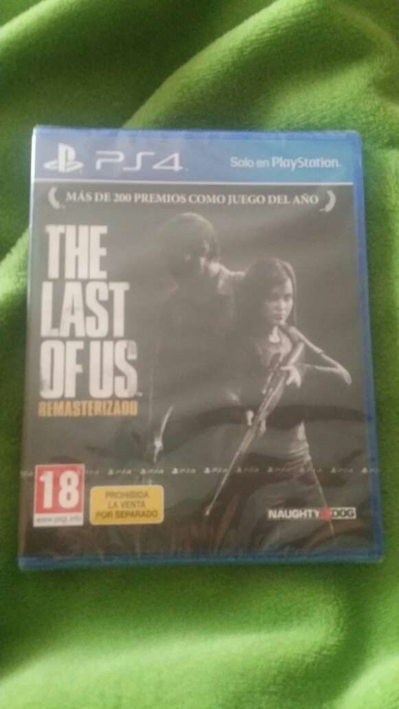 Imagen the last of us ps4 precintado