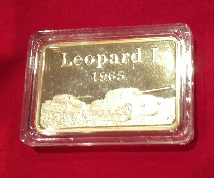 Imagen Lingote Leopard