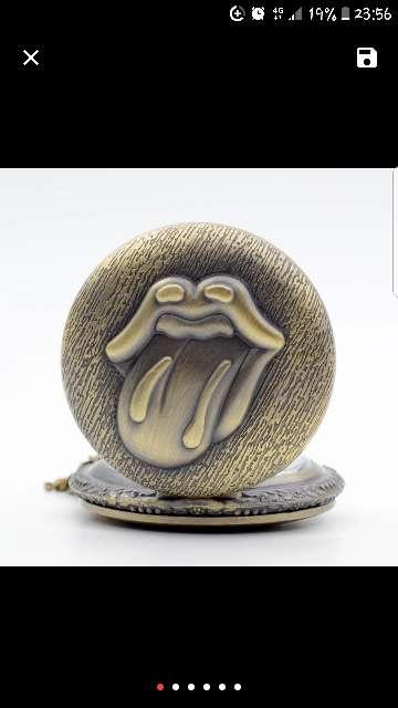 Imagen reloj de bolsillo Rolling Stones