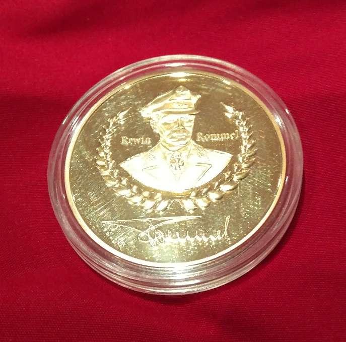 Imagen Moneda de Erwin Rommel