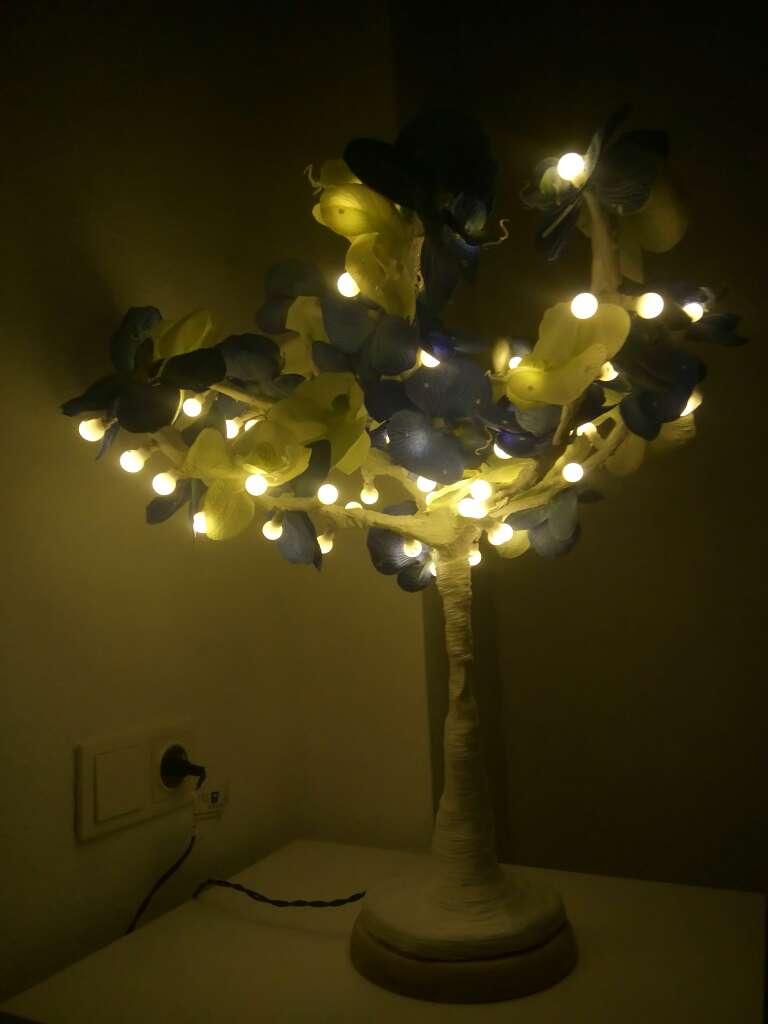Imagen producto Lampara de noche, árbol decorativo con luces LED 2