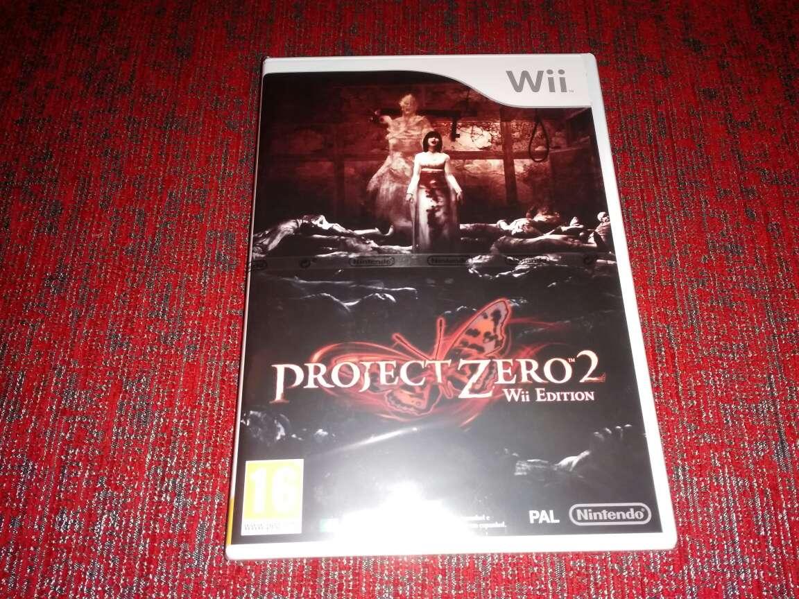 Imagen Project Zero 2, precintado