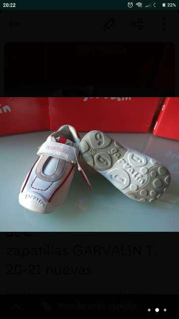 Imagen Zapatillas piel GARVALIN T. 20-21 a estrenar
