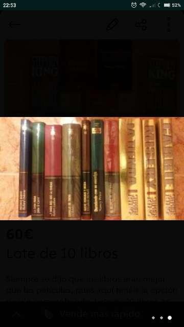 Imagen producto Lote 10 libros 2
