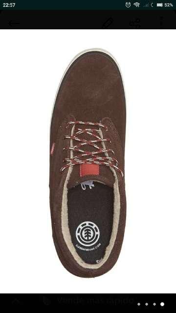 Imagen producto Zapatillas piel ELEMENT T 33-34,5-35,5-37  3