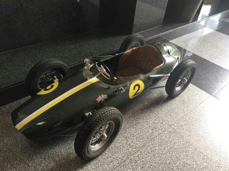 Imagen Prototipo Formula 1, Lotus 18, (1961)