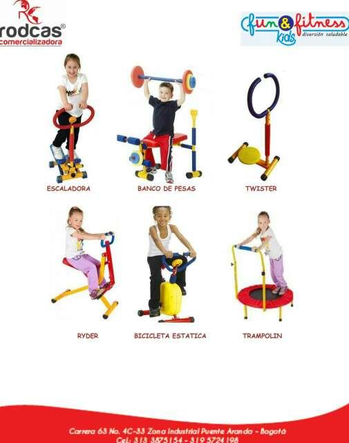 Imagen Gym infantil  equipos