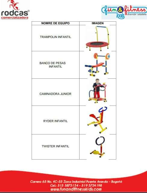 Imagen producto Gym infantil  equipos  2