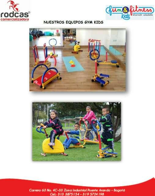 Imagen producto Gym infantil  equipos  4