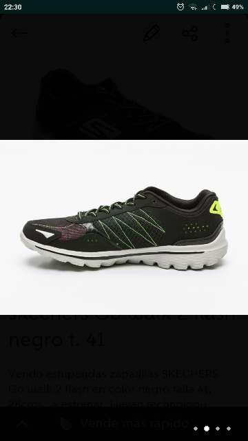 Imagen producto Skechers go walk 2 flash t. 41 2