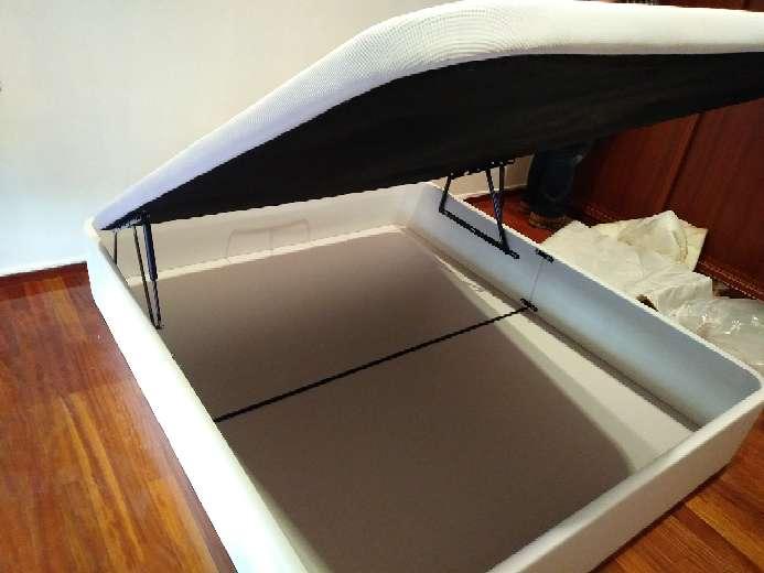 Imagen producto Abatible 1.50 acero de cama,nuevo,fiable,no  1