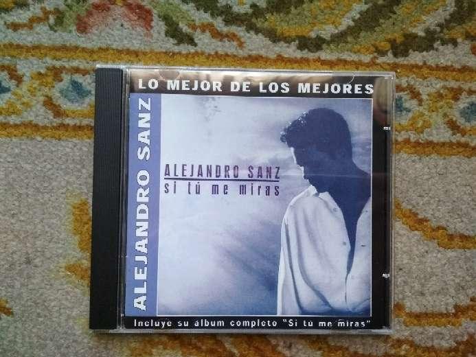Imagen producto CD Alejandro Sanz si tú me miras 1