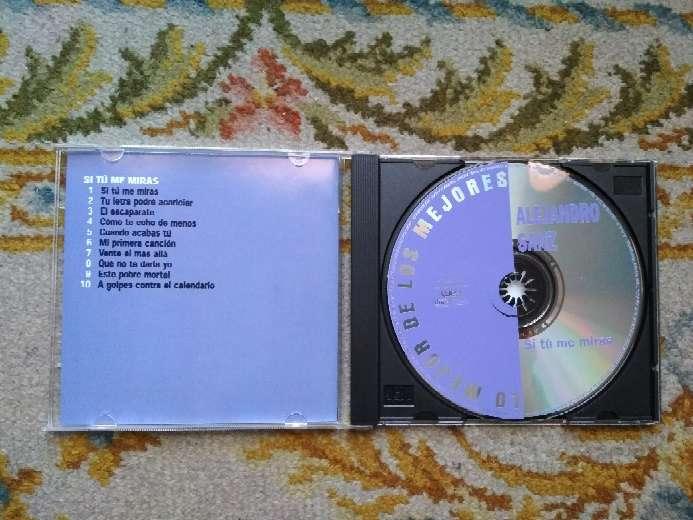 Imagen producto CD Alejandro Sanz si tú me miras 2
