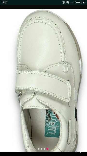 Imagen producto Zapatos piel beige crudo t. 32 a estrenar  2