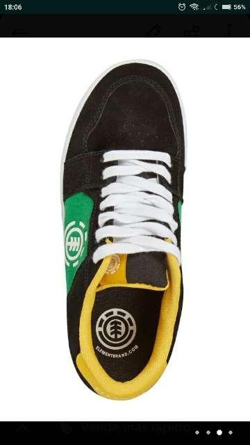 Imagen producto Zapatillas Element piel t. 40,5 nuevas  4