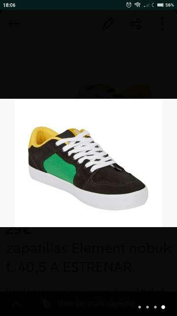 Imagen producto Zapatillas Element piel t. 40,5 nuevas  3