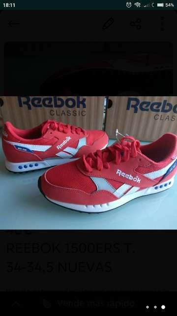 Imagen Reebok 1500 ERS rojas t.34,5