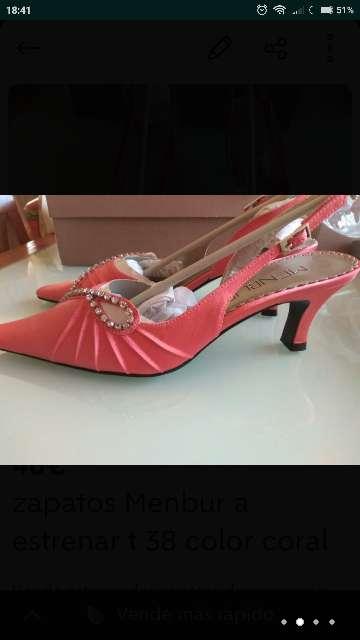Imagen Zapatos MENBUR CORAL T. 38 nuevos