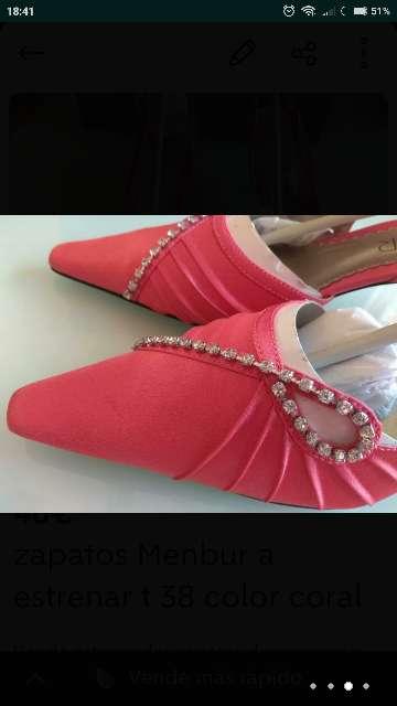 Imagen producto Zapatos MENBUR CORAL T. 38 nuevos 3