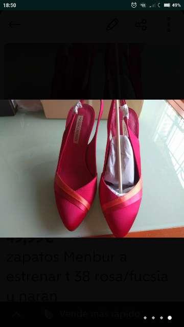 Imagen producto Zapatos MENBUR T. 38 a estrenar 4