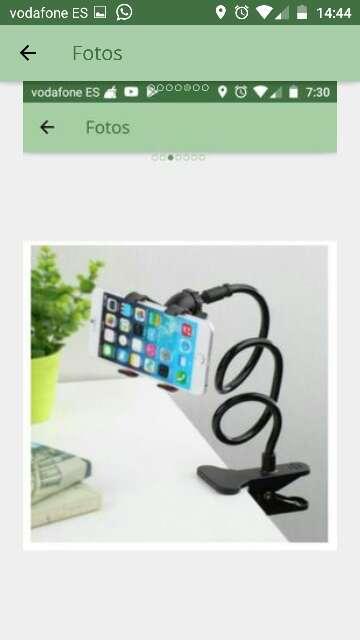Imagen soporte teléfono flexible