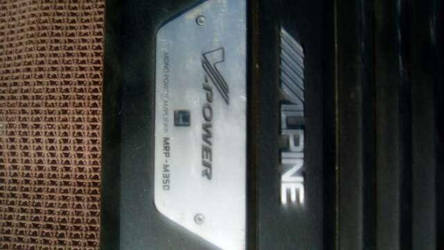 Imagen Potenciador amplificador de coche , marca Alpine